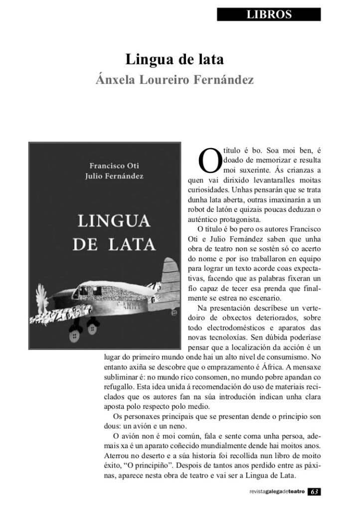 Artigo sobre Lingua de Lata(1)